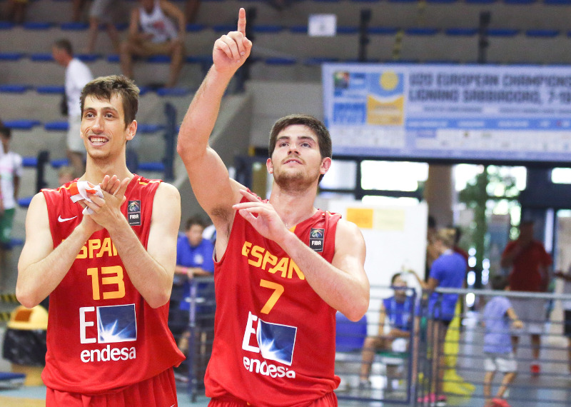 7. Agusti Sans (Spain), 13. Jose Nogues (Spain)