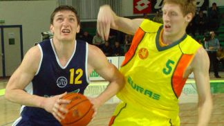 Sergiy Lishchuk (Khimik) has just eyes for the basket