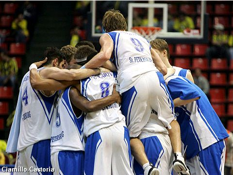 Dynamo St. Petersburg beats Khimki 92-81 and reaches the Final of the FIBA Europe League 2005
