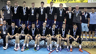 U16 European Championship Division B runners-up Bosnia and Herzegovina