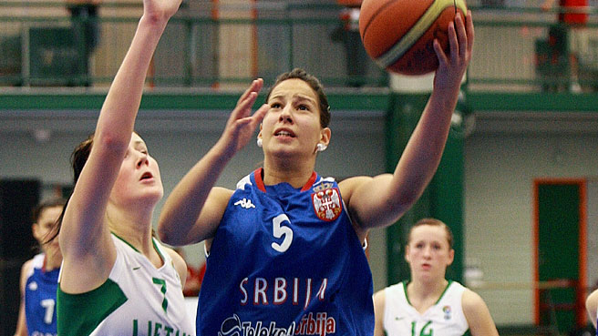 Serbia Shut Down Lithuania To Come In Fifth