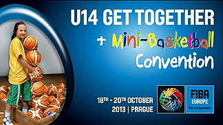 Prague will host the 2013 FIBA Europe Get Together and Mini Basketball Convention