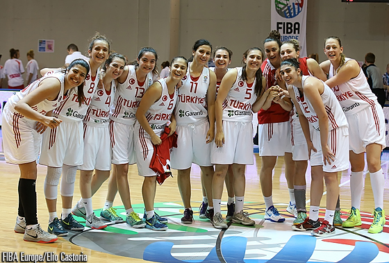 Turkey are all smiles after defeating Czech Republic