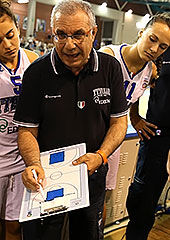 Italy head coach Antonino Molino