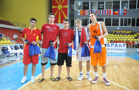 Rasid Mahaalbashic of Austria, David Jelinek of the Czech Republic, Ivica Dimcevski of FYR of Macedonia, Piotr Pamula of Poland and Heironymus Van Der List of Netherlands