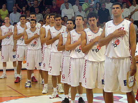 Croatia prepare for their EuroBasket qualifying opener against Latvia