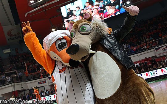 EuroLeague Women 2011 Final Four Mascots
