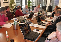FIBA Europe Referee Coaching Group Meeting in Munich, February 2011