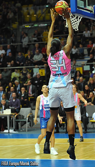 34. Sylvia Fowles (Rest of the World)