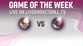 Watch the EuroLeague Women Game of the Week LIVE on livebasketball.tv