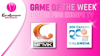 ELW game of the week 25/01 UMMC vs. Ros Casares