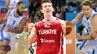 Greece, Turkey and Finland - Europes Wild Card entries to the 2014 FIBA World Cup in Spain