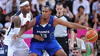 Boris Diaw (France); USA vs France, Olympic Games 2012, London
