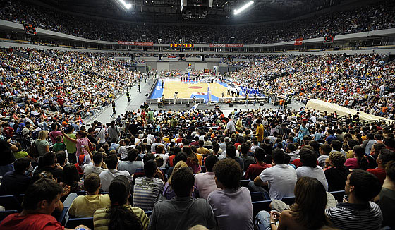18000 fans in Belgrade Arena watched Serbia's win over Hungary