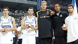 Eurobasket 2005 - All Star Five