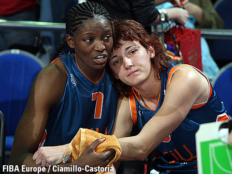 DeLisha Milton (left) and Laia Palau