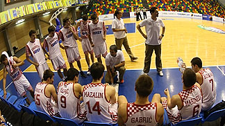 Croatia vs. Spain U18 European Championship 2013