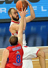 Vassilis Spanoulis - Olympiacos - Euroleague 2012 Final