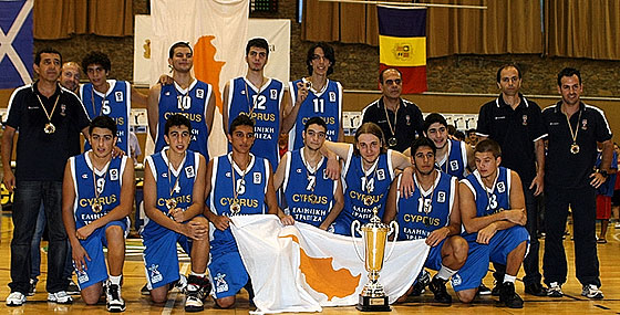 Gold Medal Winners Cyprus
