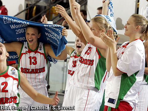 Belarussian Team Celebrating