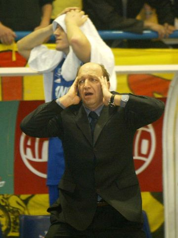 Anwil Head Coach Andrej Urlep can't believe his side is about to be eliminated from the FEL