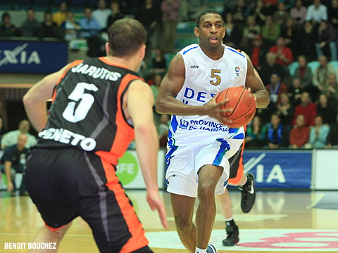 Michael Darnell Lenzly (Dexia Mons-Hainaut)
