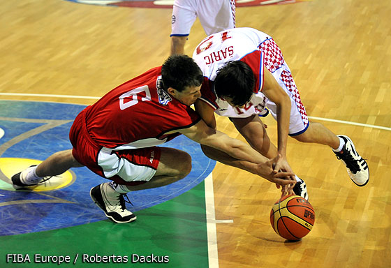 12. Dario Saric (Croatia), 6. Jan Bejcek (Czech Republic)