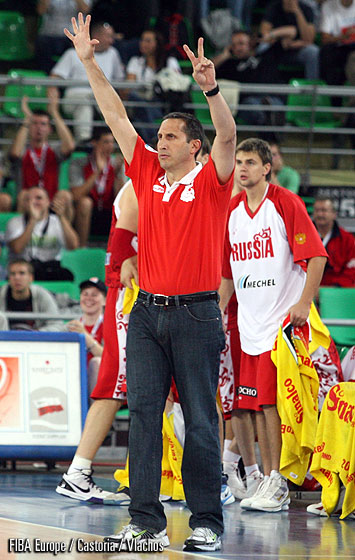 Russia Head Coach David Blatt