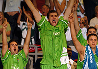 Slovenian Team Delighted