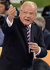 Serbia headcoach Dusan Ivkovic
