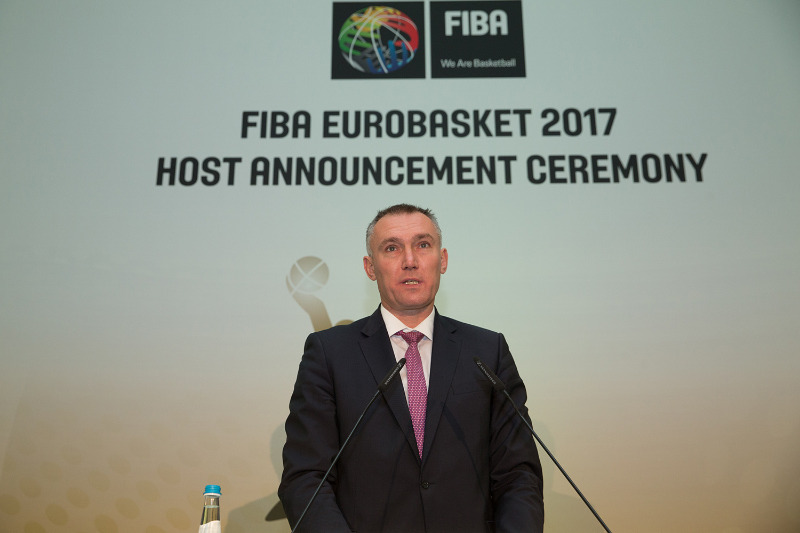 FIBA Executive Director Europe Kamil Novak