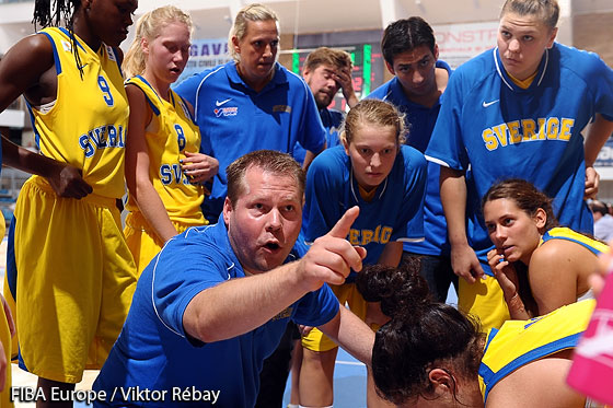 Coach of Sweden