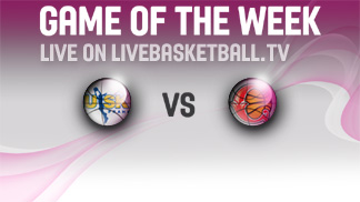 Watch USK Prague take on Sparta&K MR Vidnoje on livebaskeball.tv in the EuroLeague Women Game of the Week