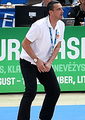 Bosnia and Herzegovina Head Coach Dejan Radonjic