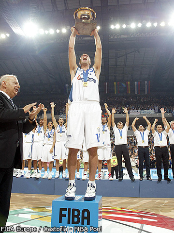 Greek Team - Gold Medal Winners
