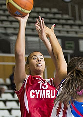 13. Tanisha Walker (Wales)