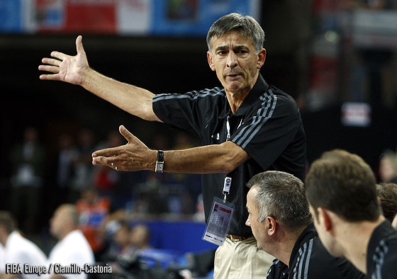 Turkey Head Coach Bogdan Tanjevic