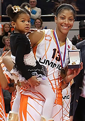 Candace Parker (UMMC Ekaterinburg) has been named MVP of the 2013 EuroLeague Women Final Eight