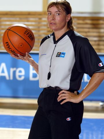 FIBA Europe Referee Chantal Julien