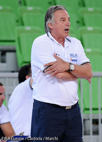 Coach Konstantinos Missas (Greece)