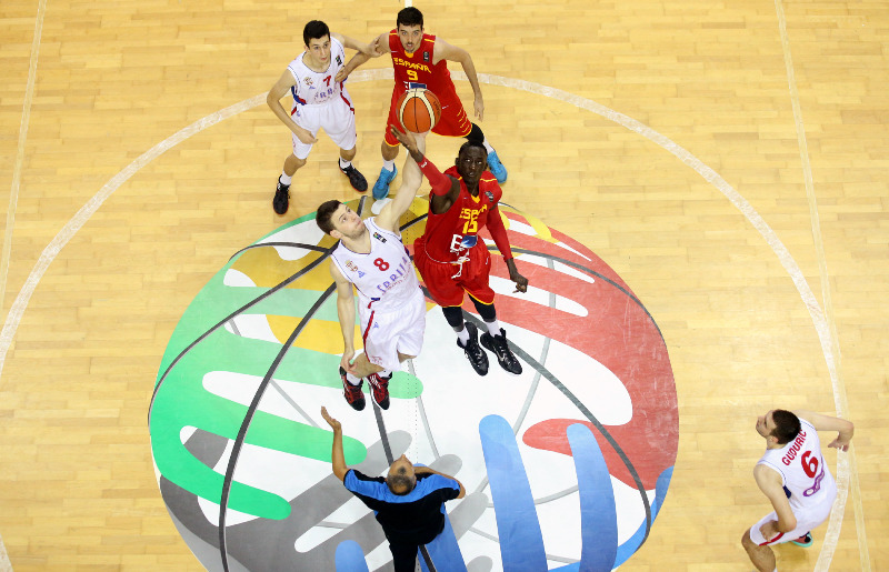 8. Dragan Apic (Serbia), 15. Ilimane Diop (Spain)