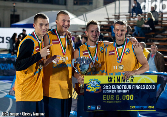 And just like that we crowned the 2013 3x3 EuroTour Champions - Jelgava (Latvia)