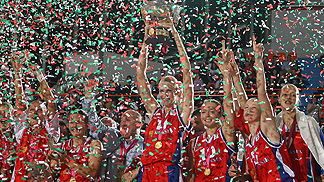 Russia - Winner of EuroBasket Women 2007