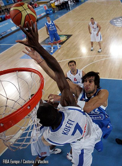 Alain Koffi (France), Georgios Printezis (Greece)
