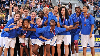 France, U18 European Championship Women 2010 bronze medallists