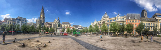 Groenplaats - the home to 3x3 EuroTour for the upcoming weekend