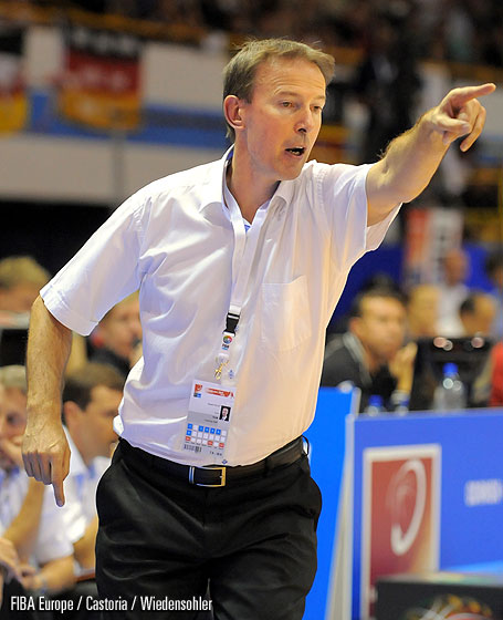 France Head Coach Vincent Collet