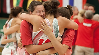 Hungary win bronze at the U16 European Championship Women