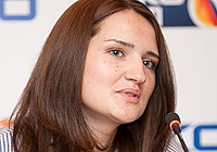 Russian Federation Secretary General Natalia Galkina
