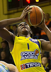 1. Crystal Langhorne (Good Angels Kosice)